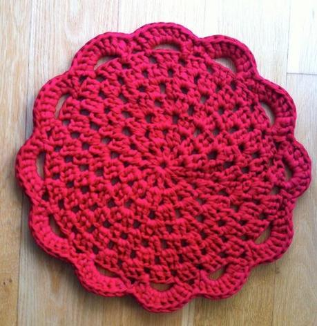 tutorial como hacer Alfombra de trapillo ganchillo crochet