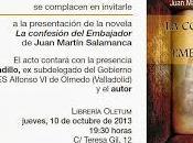 """Presentación confesión embajador"""" Juan Martín Salamanca"""