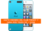 Club Trendy: Gana iPod Touch 32GB