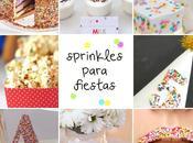 formas originales incorporar sprinkles fiesta