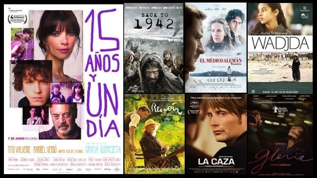 Candidatas al premio Oscar 2014 a la Mejor Película de Habla no Inglesa (Lista Completa)
