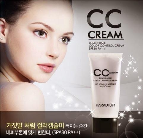 Luster Base CC Cream de KARADIUM (From Asia With Love)