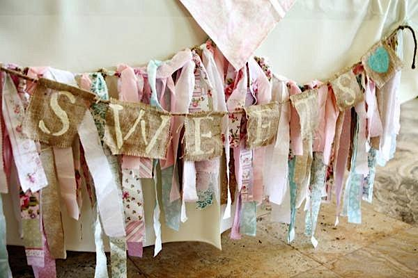 Shabby chic Baby Shower Ideas, decoracion y postres clave. - Paperblog
