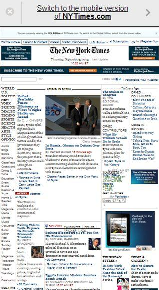 web movil nytimes