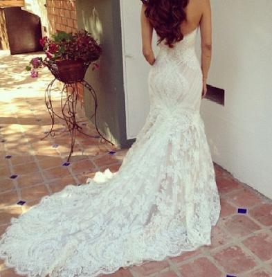 vestidos de novia muy escotados – vestidos de noche
