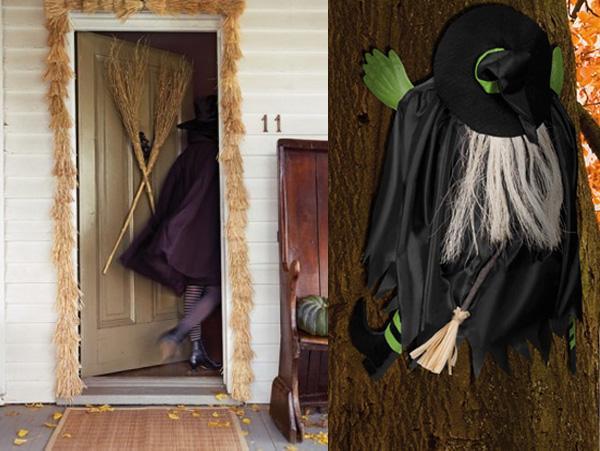 Ideas para la decoraci n de una fiesta de brujas paperblog for Puertas decoradas dia del libro