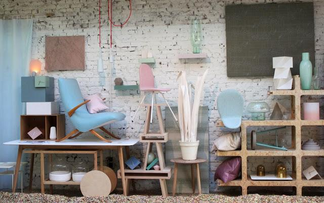 Inside Design Amsterdam in Lobster House studio