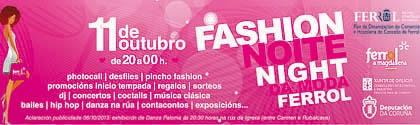 Mango Shoping Night y Ferrol Noite Night... 2013