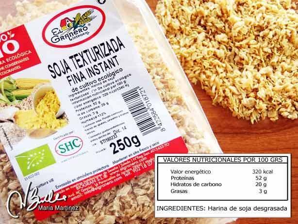 Soja texturizada y dieta dukan paperblog - Alimentos permitidos fase crucero ...