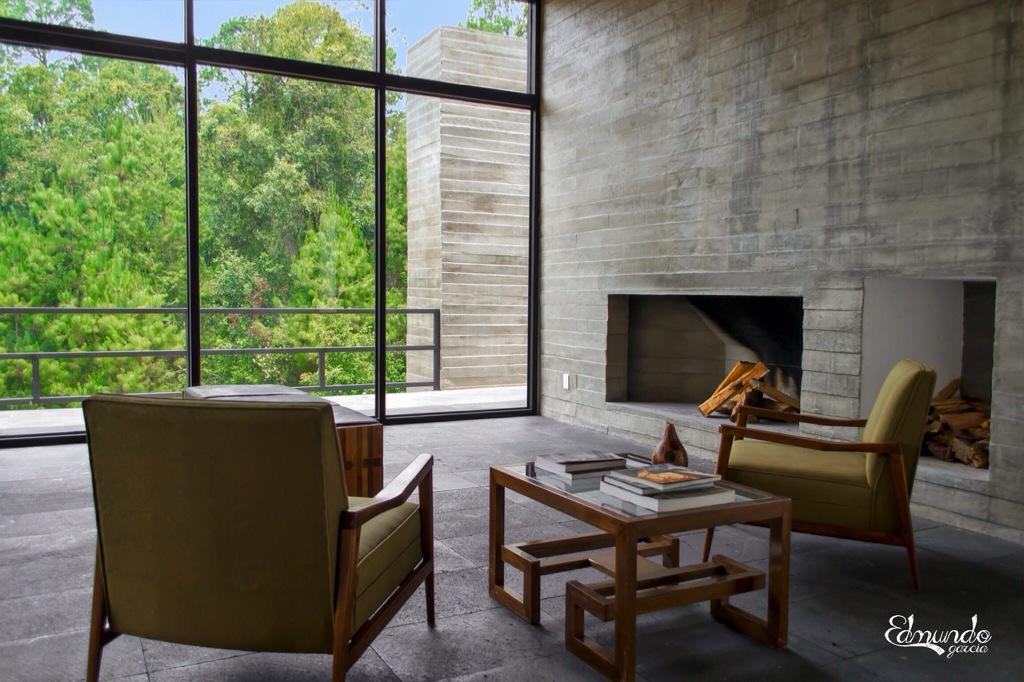 Estilo industrial contempor neo en valle de bravo paperblog for Casas estilo mexicano contemporaneo fotos