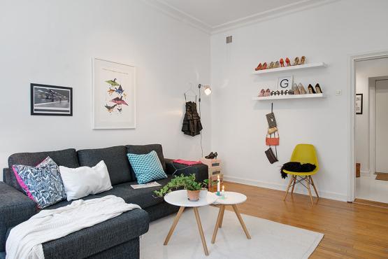 El mini piso de una apasionada de los zapatos paperblog - Decoracion de pisos pequenos modernos ...