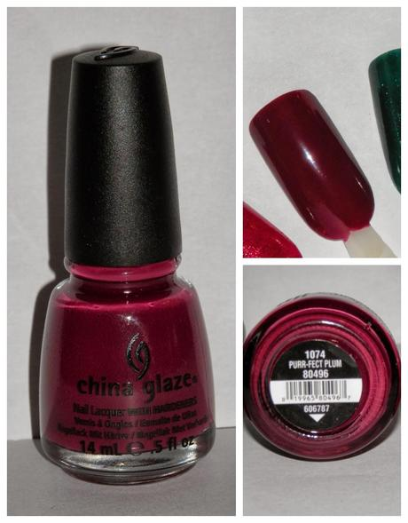 haul CHINA GLAZE, Salon Look 13
