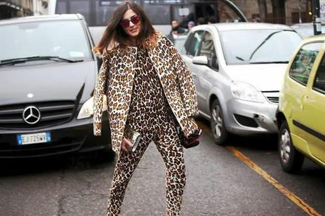 The leopard print viral trend from Stella McCartney Resort 2013 collection