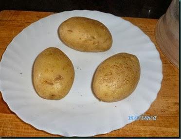 patatas rellenas de verduras y trompetas de la muerte7 copia