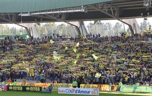 Ultras Nantes Tribune Loire