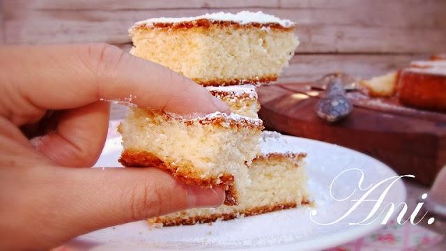 Bizcocho esponjoso de yogurt de lim n paperblog - Bizcocho de limon esponjoso ...
