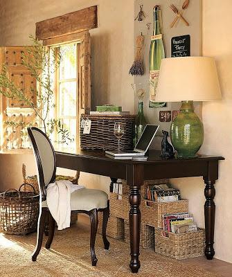 Decoracion rustica con canastas paperblog for Decoracion rustica