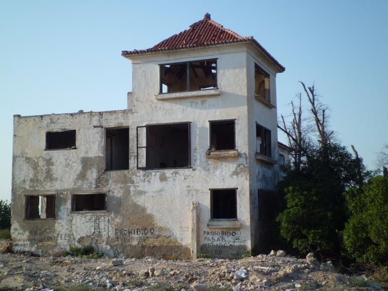 casa abandonada en algorfa alicante paperblog