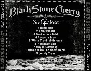 FRIDAY NIGHT LIVE (2): Black Stone Cherry - Rockpalast, Dortmund 29/10/2011