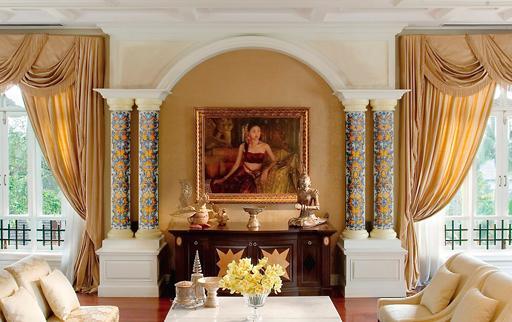 La decoraci n inteligente materiales y acabados paperblog - Columnas decoracion interiores ...