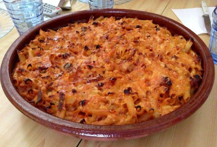 Macarrones al horno paperblog - Macarrones con verduras al horno ...