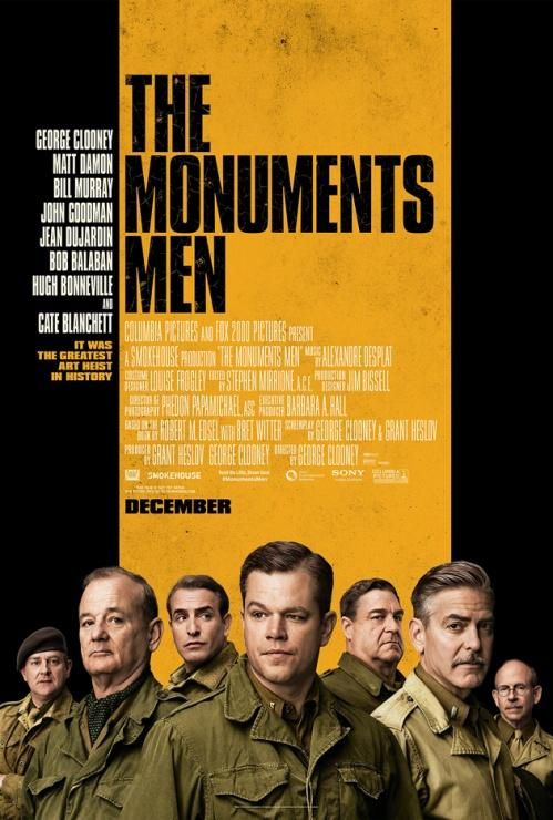 poster the monuments men george clooney