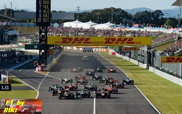 RESUMEN DEL GP DE JAPON 2013 - VETTEL SIGUE DOMINANDO