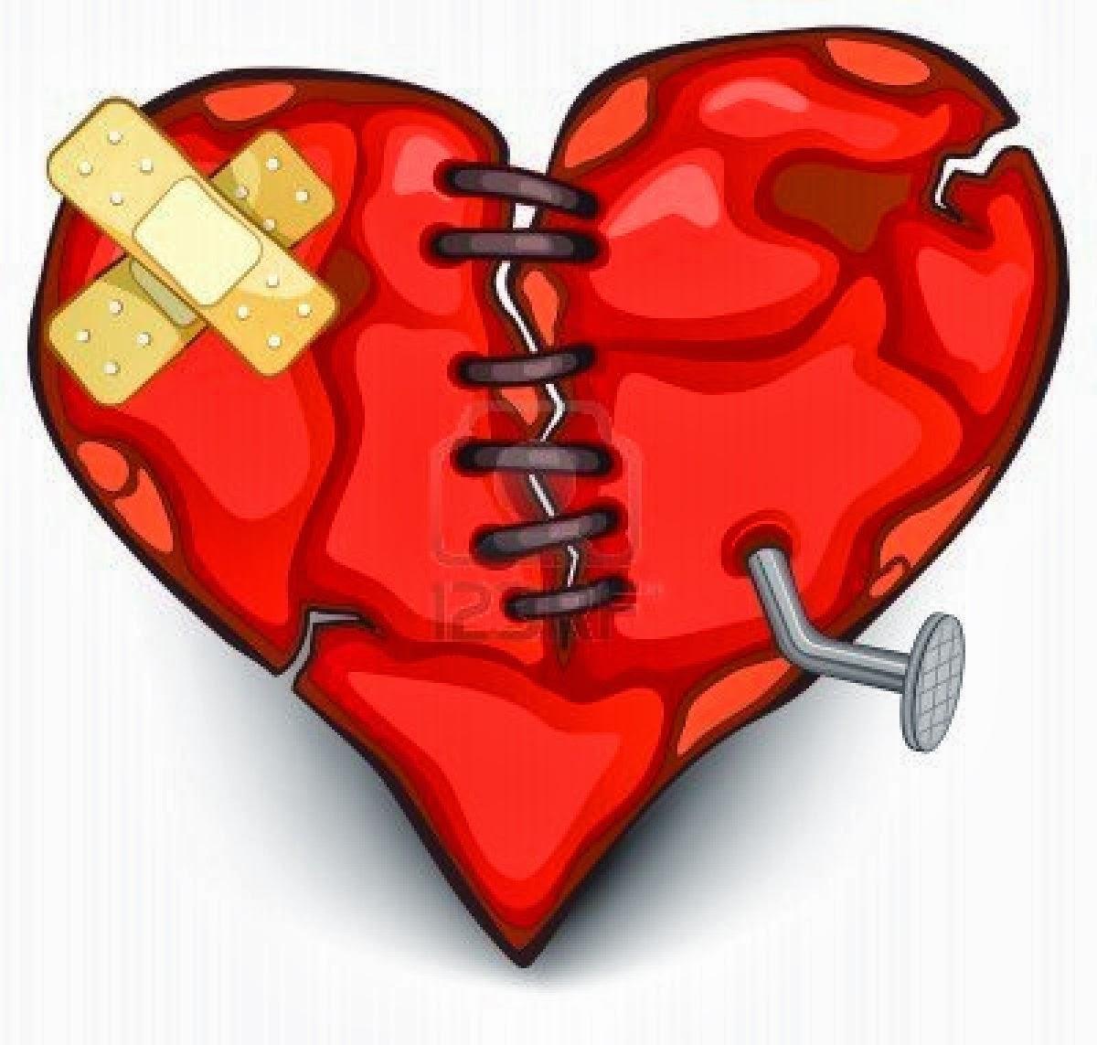 Открытка нож в сердце