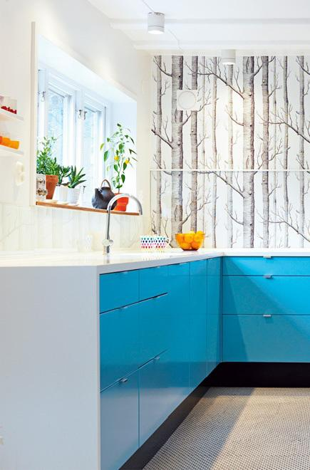 Papel pintado en cocinas paperblog - Papel pintado en cocina ...
