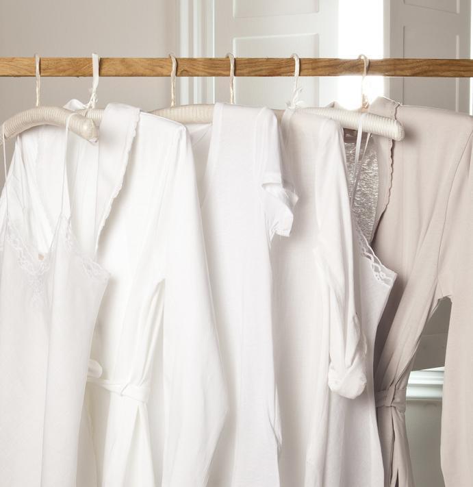 Bachas Blancas Para Baño: – Batas De Bano De Algodon De La Mujer De La Primavera Y El Otono De