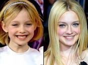 Niñas actrices crecieron