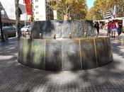 Monumento santpere, rambla santa mónica barcelona...14-10-2013...