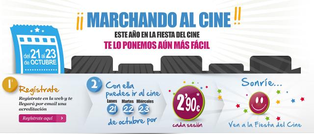 Fiesta del cine. Entradas a 2,9€ (@fiestadelcine)