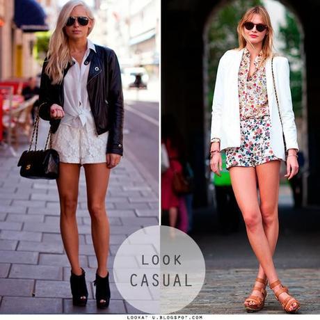 Shorts a la cintura… piernas más largas!!