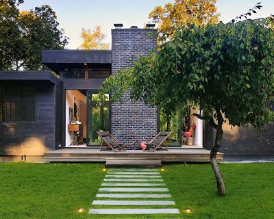 Casa rustica y moderna en suffolk paperblog for Casa moderna rustica