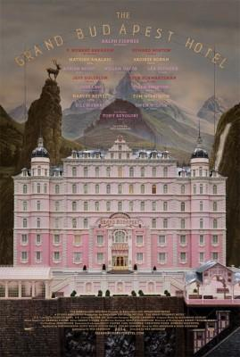 The Grand Budapest Hotel wes anderson poster