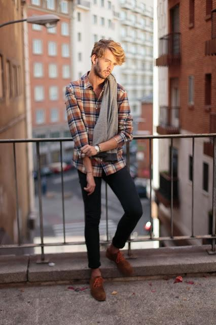 This is an outfit: preppy lumberjack