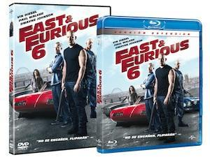 Fast & Furious 6 en Blu-Ray y DVD