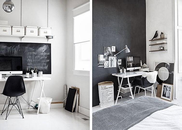 Espacios mesas de trabajo paperblog Decoracion de espacios de trabajo