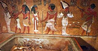 Tutankamón y el fragmento de un cometa