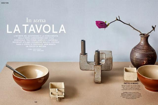Living: Una nueva revista italiana de decoración
