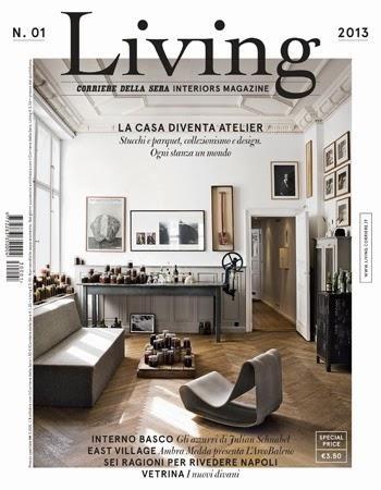 Living una nueva revista italiana de decoraci n paperblog for Riviste arredamento interni on line