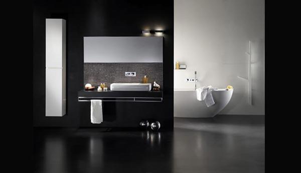 Decorar Un Baño Gris:Color gris en los baños – Paperblog
