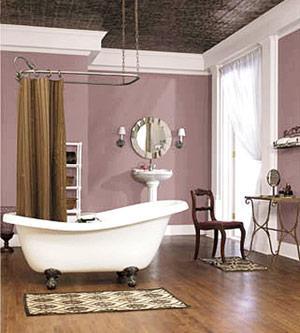 Cuartos de baño en color lila - Paperblog