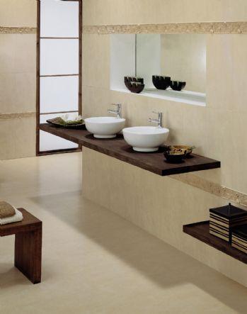 Baños en color beige - Paperblog
