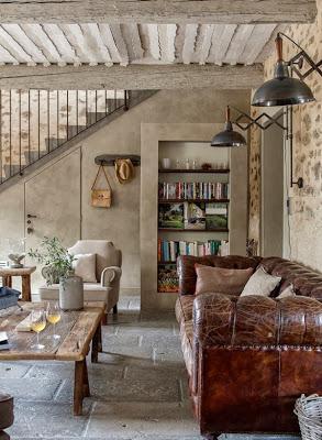 Casa rustica en la provenza paperblog - Decoracion francesa provenzal ...