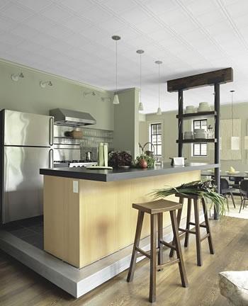 Cocinas minimalistas pequeñas   paperblog
