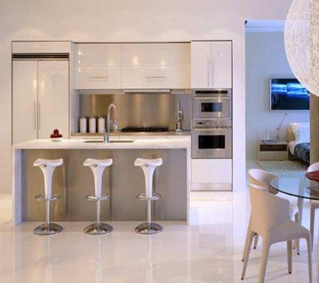 Cocinas minimalistas pequeas Paperblog