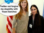 Twiteros cantan cuarenta Samantha Power tras informar reunión Yoani Sánchez
