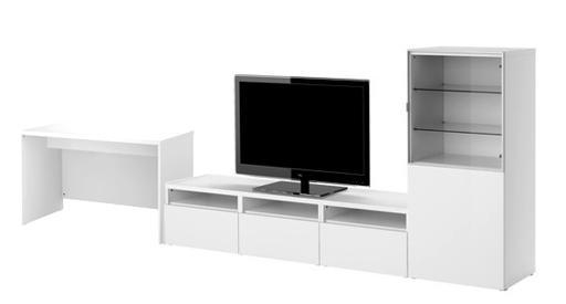 La decoraci n inteligente espacios de trabajo estudio for Muebles multifuncionales ikea